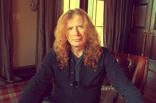 Dave Mustaine, vocalista de Megadeth, tiene cáncer