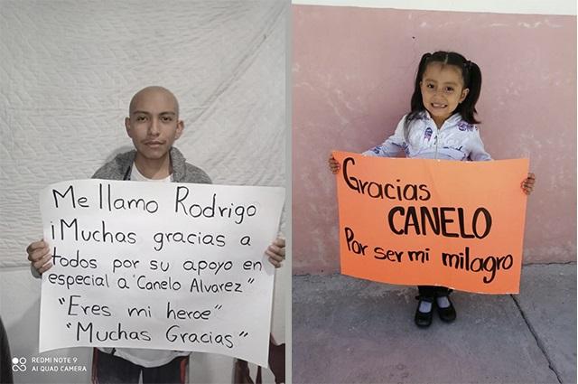 Llega a 485 mil pesos donativo para niños con cáncer en Puebla