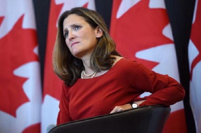 Canadienses inspeccionan sede de la reunión de Chrystia Freeland y AMLO
