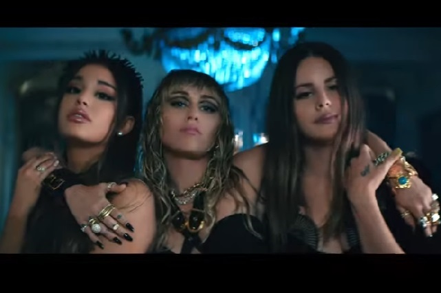 Esta es la nueva canción de Ariana Grande, Lana del Rey y Miley