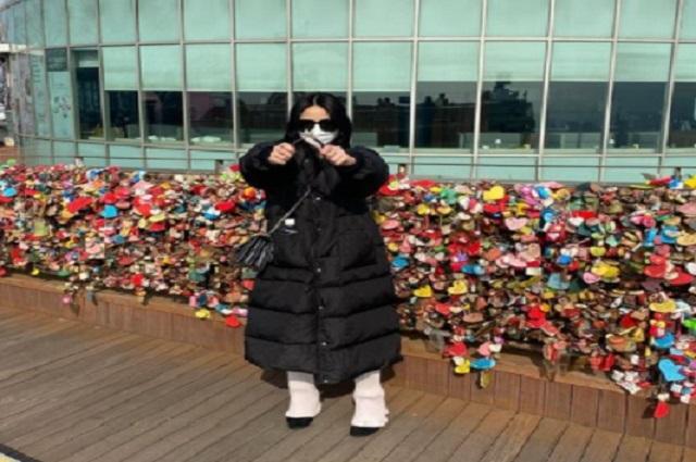 Viaja de Estados Unidos a Corea de Sur solo para romper 'candado de amor'
