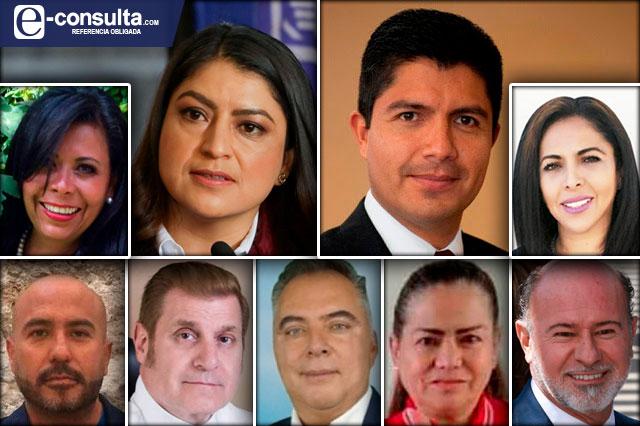 Van 9 por la alcaldía de Puebla; sólo 3 tienen experiencia de gobierno