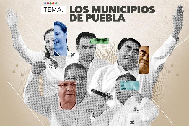 Candidatos no eliminarán a 170 municipios fantasma en Puebla