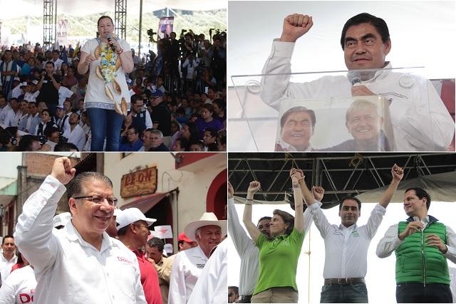 Va debate light para el 11 de junio por el gobierno de Puebla