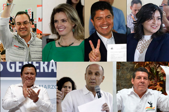 Al final van siete candidatos por la alcaldía de Puebla