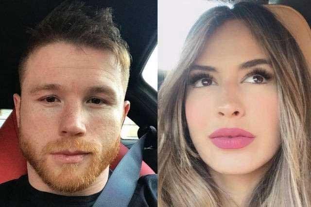 Con una foto, confirman romance de Canelo Álvarez con Shannon de Lima