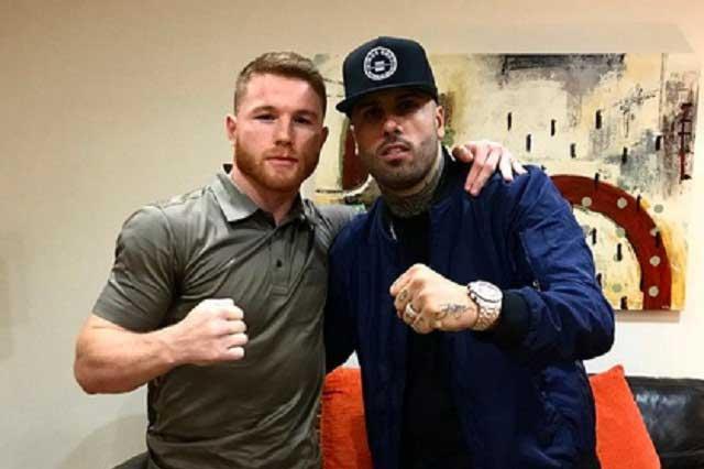 Nicky Jam manda mensaje de apoyo a Saúl Canelo Álvarez