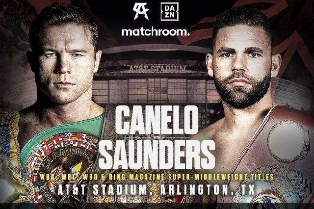 'Canelo' y Saunders venden 20 mil boletos en primer día de preventa