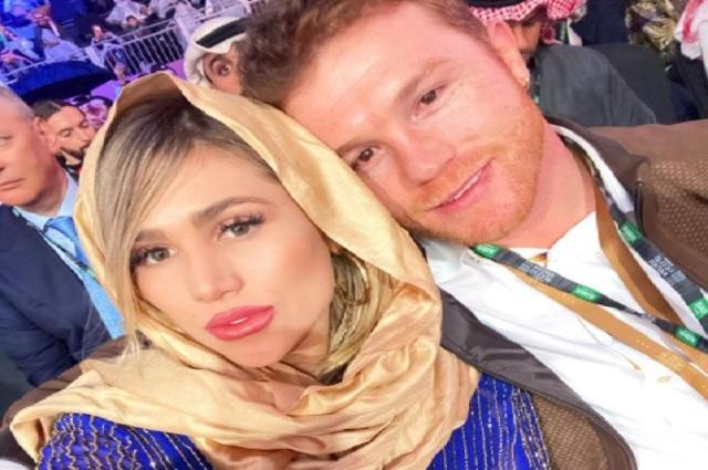 'Canelo' Álvarez se casa por el civil con Fernanda Gómez