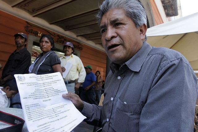 Buscará Raúl Pérez ser restituido como edil en Canoa