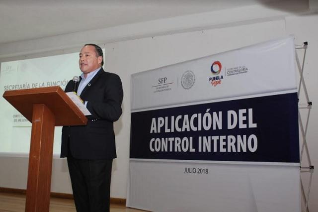 SFP capacita a servidores públicos en mecanismos de control interno