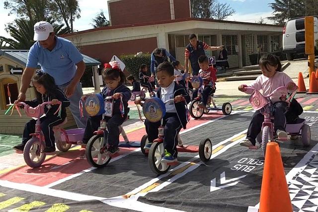 Dan capacitación vial a 6 mil estudiantes en Puebla
