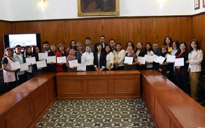 Capacitará gobierno de San Pedro Cholula a mujeres a través de Nafin