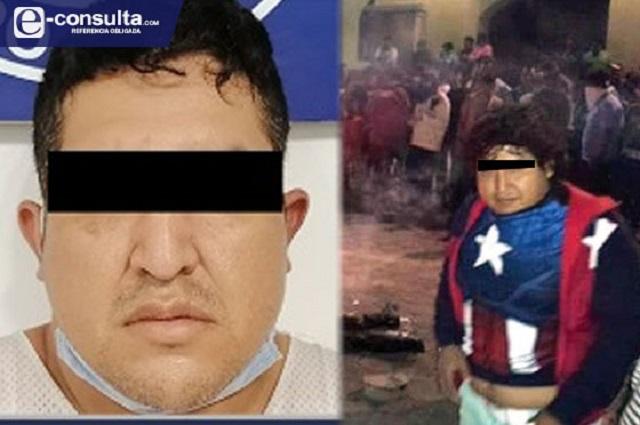 Cae el 'Capitán América' por linchamientos en Ajalpan en 2015