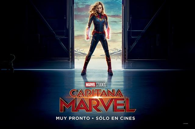 Llega póster en español de Capitana Marvel