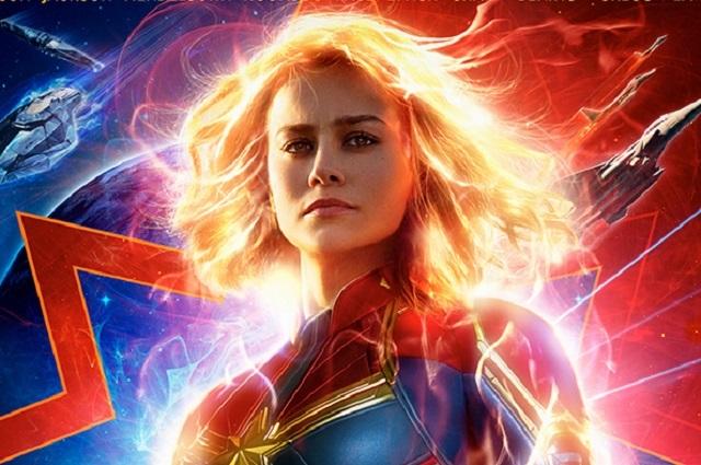 Estrenan póster de Capitana Marvel y crece expectativa