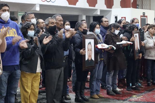 Rinden homenaje a policías asesinados en Teotlalcingo