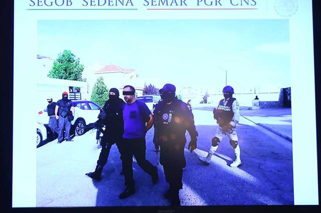 Federales capturan a Julio César N, líder de La Línea