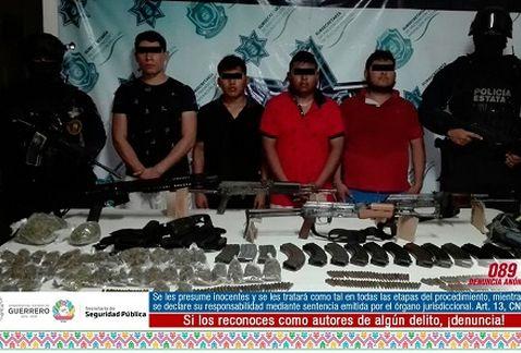 Caen 4 sicarios que emboscaron y mataron a 6 policías en Guerrero