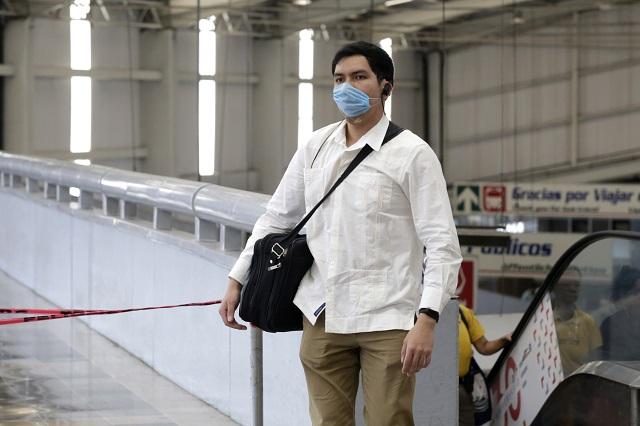 Empresa Faurecia dona 100 mil cubrebocas a Puebla