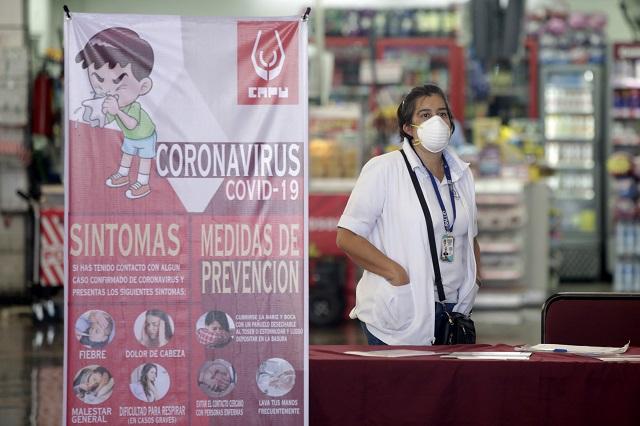 Eleva gobierno federal a 97 los contagios de Covid-19 en Puebla