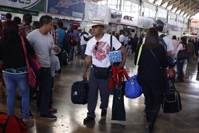 Hasta 1500 corridas de autobuses diarias esperan en la CAPU