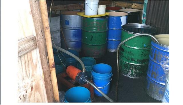 Detienen a siete hombres por presunto robo de hidrocarburo