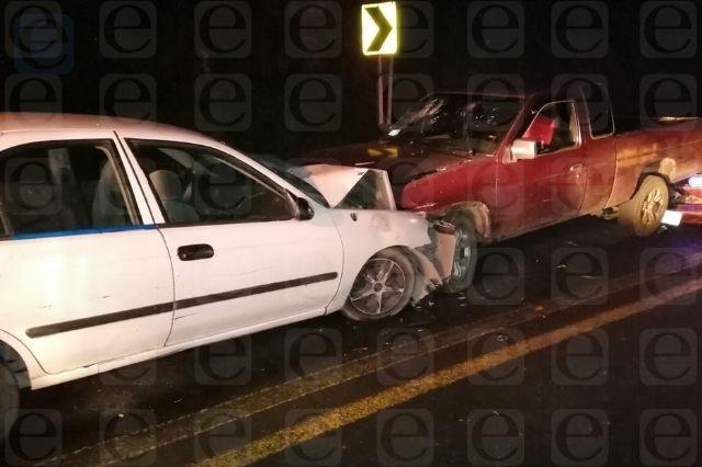 Carambola deja 9 heridos en puente de Huauchinango