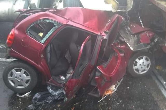 Chocan 7 vehículos en la Puebla-Veracruz, hay un muerto