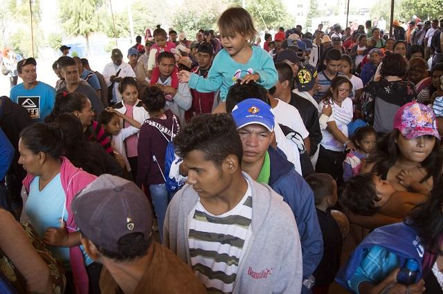 Preocupan a defensores de DH personas vulnerables en marcha de migrantes