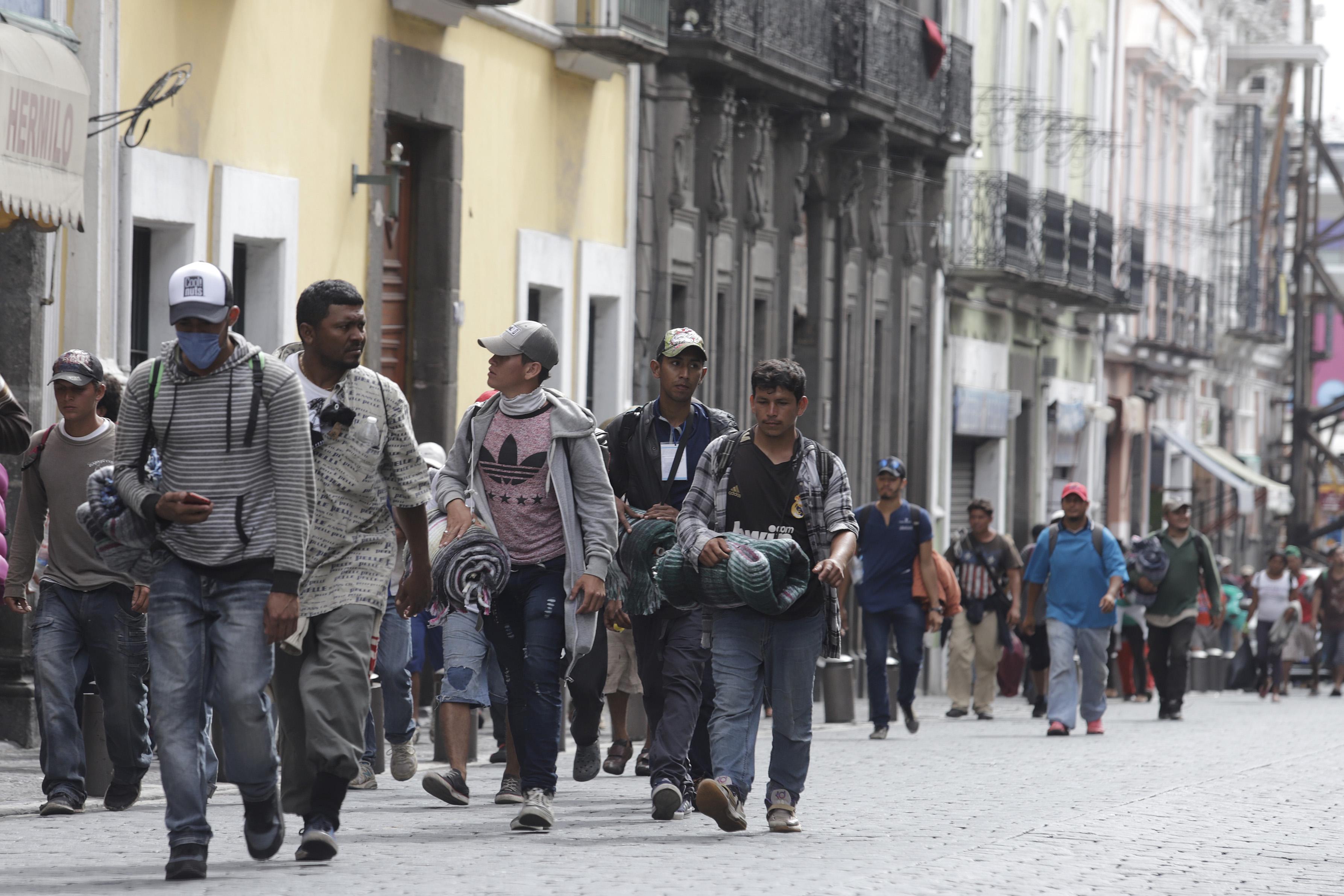Solicita CNDH protección a Caravana migrante en Puebla