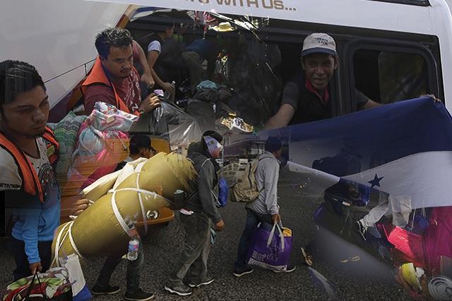 Caravana migrante toma rumbo a Veracruz y sólo rozaría Puebla