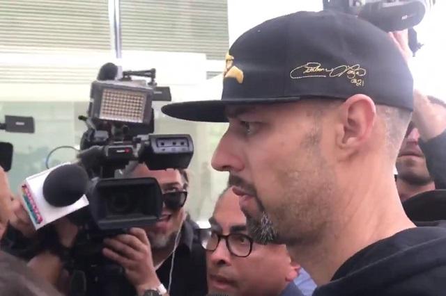 VIDEO: Así llegó Esteban Loaiza a cumplir sentencia y ¿qué dijo?