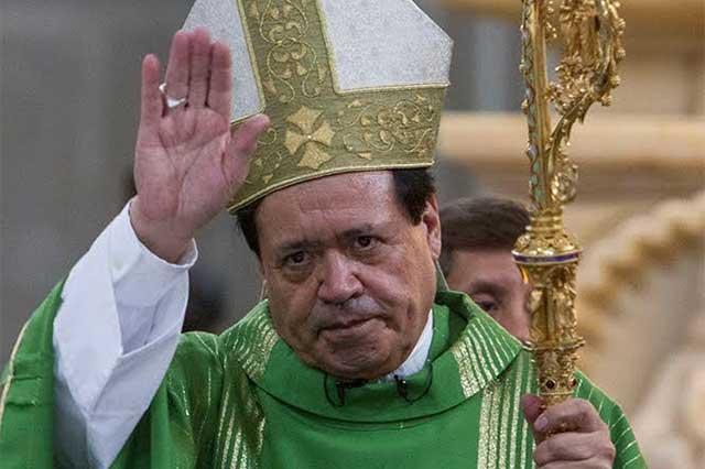 El cardenal presume que está en perfecta comunión con el Papa
