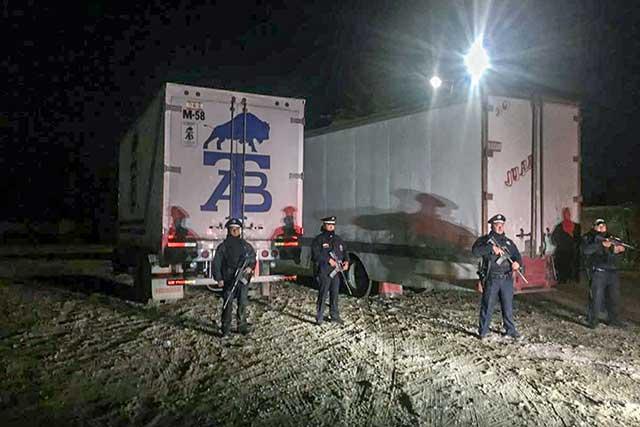 Policía Federal recupera carga robada tras tiroteo en Puebla