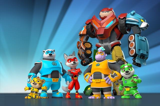 Estos son los personajes de Kingdom Force: El escuadrón del reino