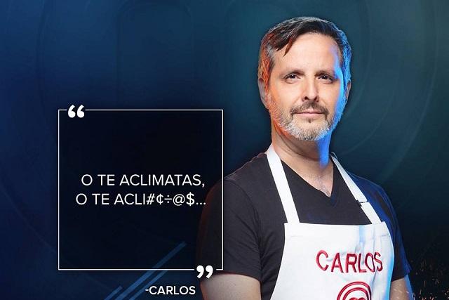 Carlos Leal, de MasterChef, dice que nació para cocinar
