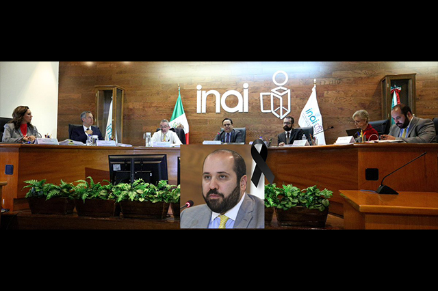 PGJ investiga la muerte de Carlos Alberto Bonnin, comisionado del INAI