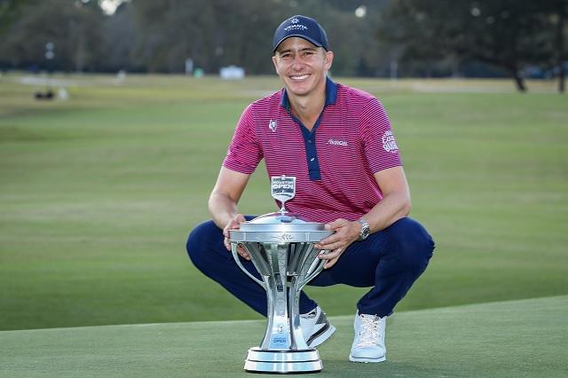 Carlos Ortiz, primer mexicano en 40 años que logra coronarse en el PGA Tour