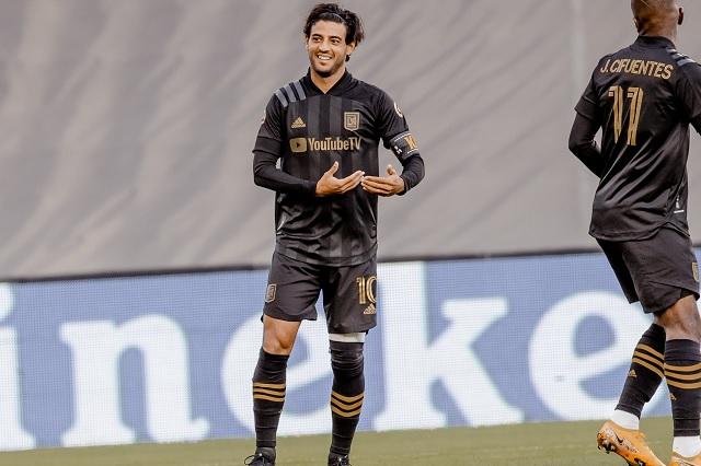 Carlos Vela responde con gol tras ser nuevamente titular con LAFC