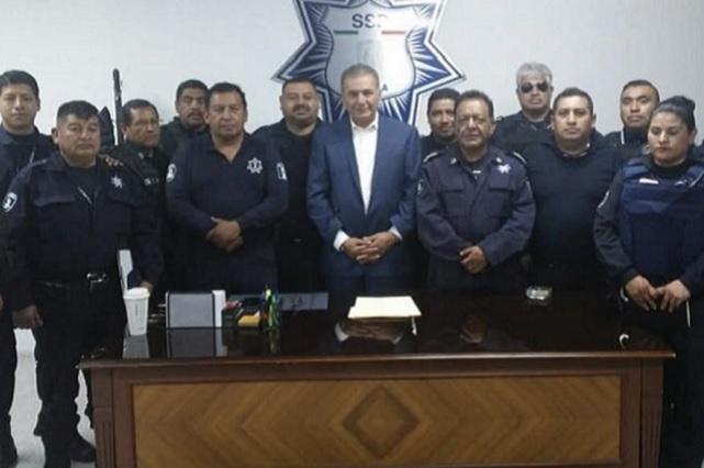Carlos Cárdenas aún es director de la Policía Estatal: SSP