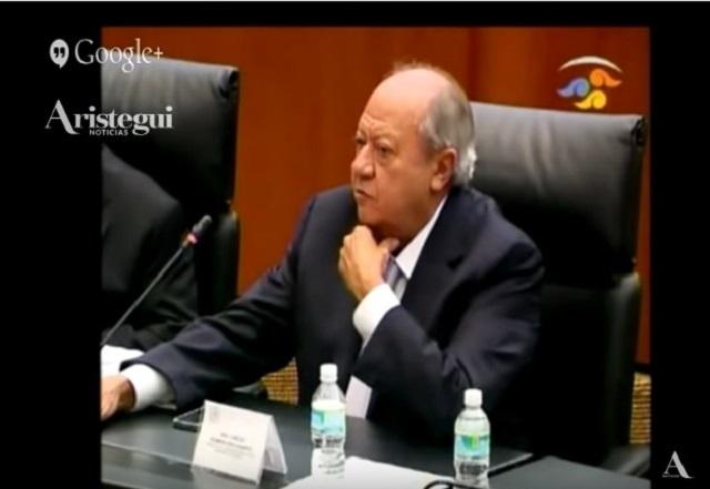En Palacio Nacional, manifestantes exigen destituir a Romero Deschamps
