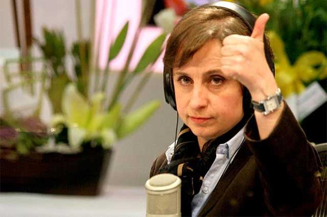 Carmen Aristegui regresará a la radio este mes: Gómez Leyva