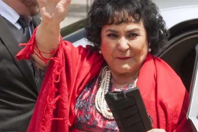La diputada Carmen Salinas defiende resbalón de El Cuau
