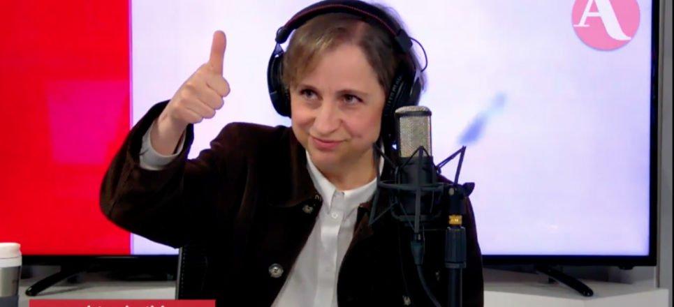 Tribunal determina que fue ilegal que MVS despidiera a Carmen Aristegui