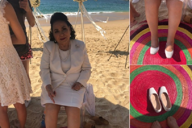 Trolean a Carmen Salinas por comprar dos zapatos izquierdos