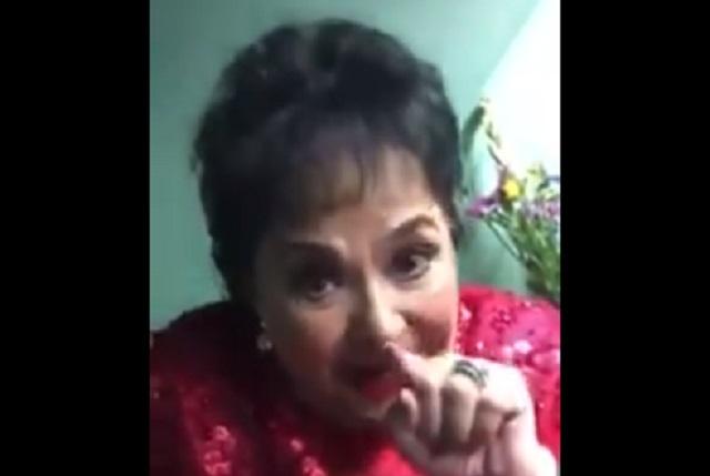 Carmen Salinas dice que el VHS sí es enfermedad sexual