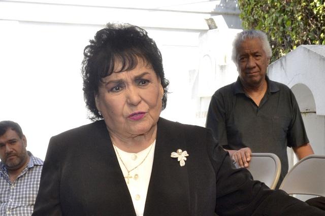 Carmen Salinas invita a Angélica Rivera a ser la próxima Aventurera