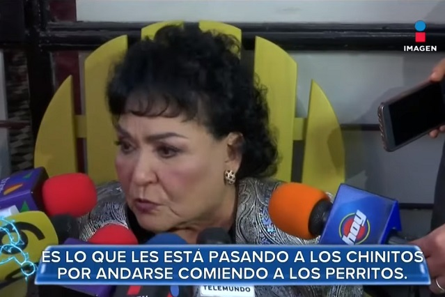 Embajada de China le pide a Carmen Salinas una disculpa pública