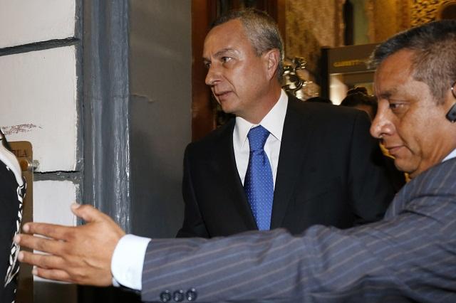 Víctor Carrancá se presentará en el Congreso el próximo jueves